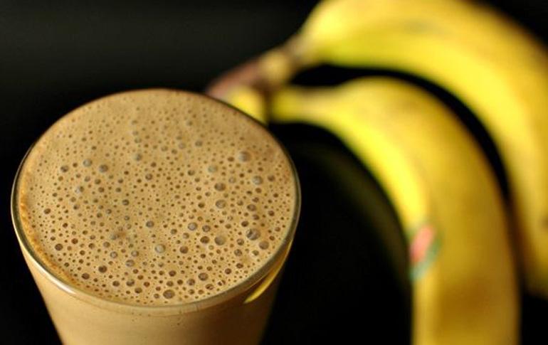 Μπανάνες με καφέ