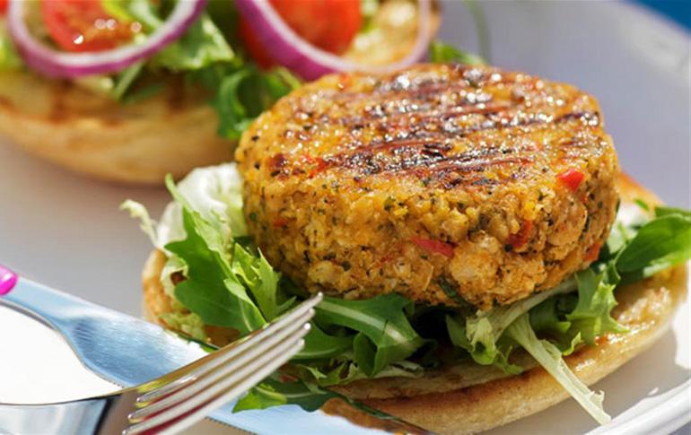 Burger από όσπρια