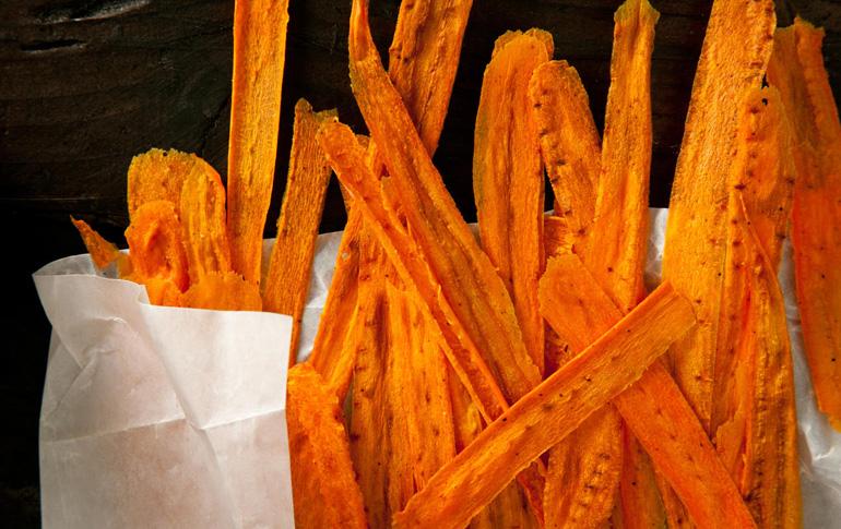 Chips καρότου