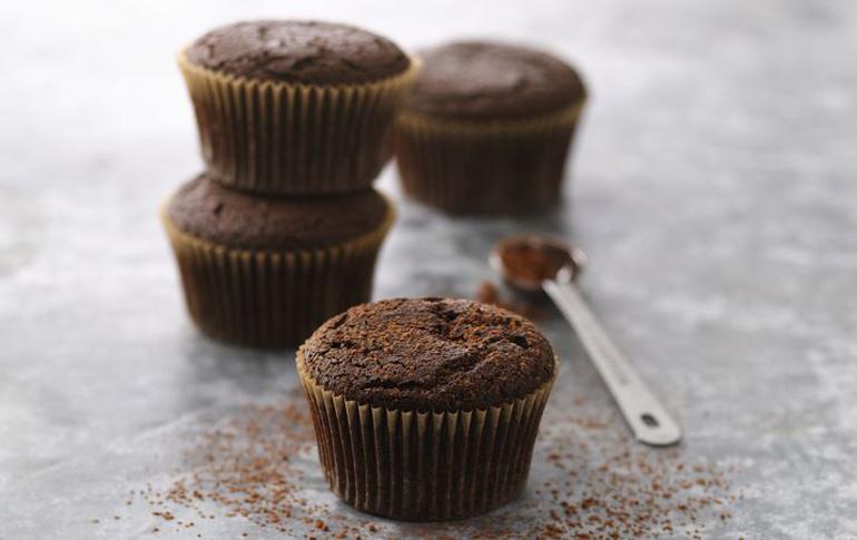 Μικρά κέικ σοκολάτας