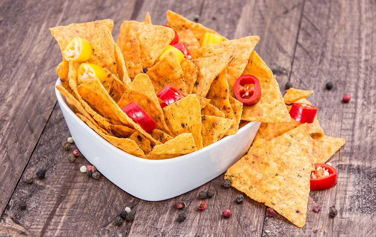 Handmade nachos