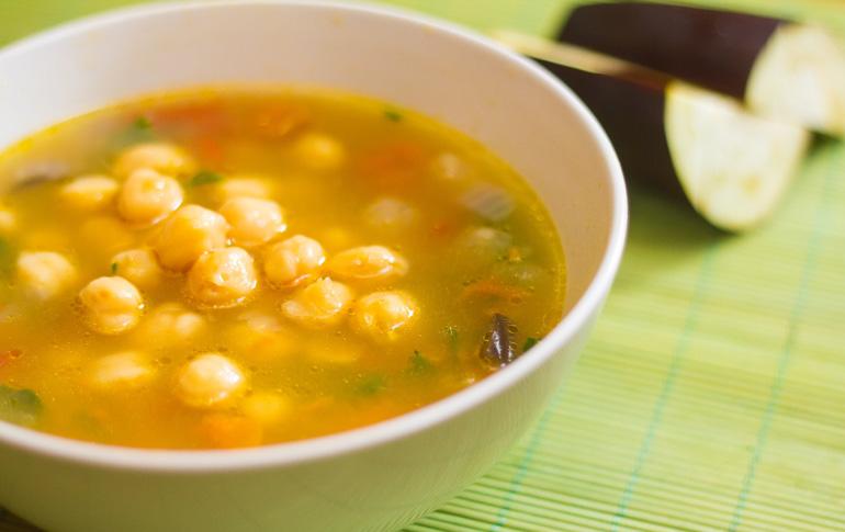 Σούπα ρεβίθια